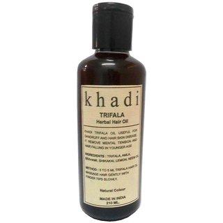 Khadi Triphala Oil 210ml (Pack of 1)