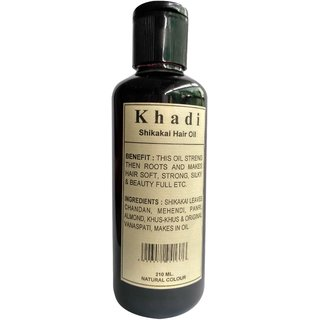 Khadi Shikakai Hair Oil 210ml (Pack of 1)