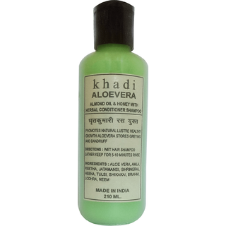 Khadi Alovera Shampoo 210 ML (Pack of 1)