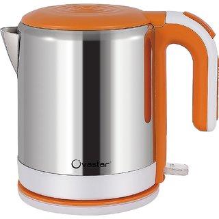 Ovastar Electric Kettle - 15 cms x 16.5 cms x 20 cms Silver