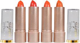 Mars Color Blast Orange Shade Glossy Lipsticks L3-C475