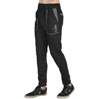 BIS Creations  Men's Black  Track Pant