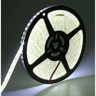 Flexible LED Strip Lights,5050 LEDs Warm White Waterproof LED Light Strip,12V DC 16.4ft/5m LED Tape for Gardens/Homes/Kitchen/Cars/Bar