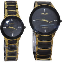 Men's Stylish Analog Black Dial Watch