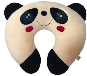 Ultra Soft Panda Designed Baby Neck Cushion Pillow, 14 inches