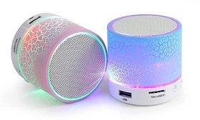 PREMIUM E COMMERCE Mini Bluetooth Speaker New Technology-Multicolor