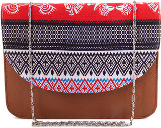Meia Inca Treasures Clip Art Design Sling Bag