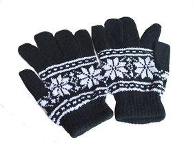 Florer printed Solid Gloves For Men, Women