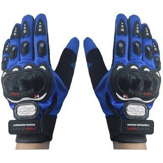 Motorcycle Riding Full Finger Driving Gloves (XL, Black)