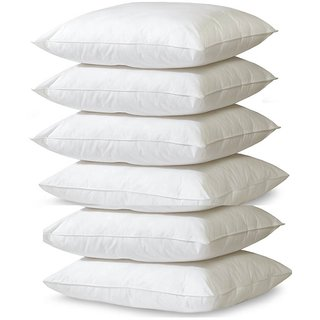 Bestellan Pack of 6 16x16 inch Fiber Filled Cushion