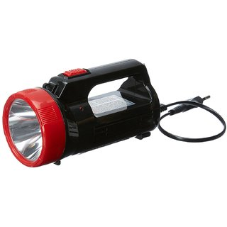 Rock Light RL-782 5 Watt LED + 2 tube light Rechargeable LED Torch (Color May Vary)