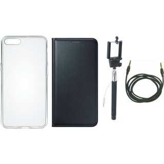 J5 Prime Cover with Silicon Back Cover, Selfie Stick and AUX Cable