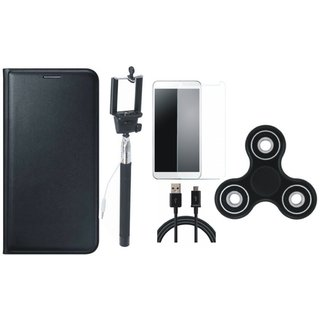 J5 Prime Cover with Free Spinner, Selfie Stick, Tempered Glass and USB Cable