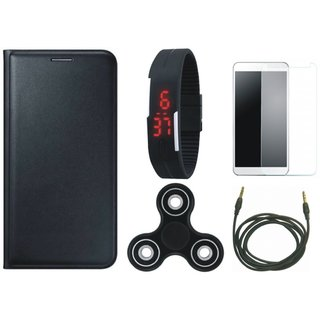J5 Prime Cover with Free Spinner, Digital LED Watch, Tempered Glass and AUX Cable