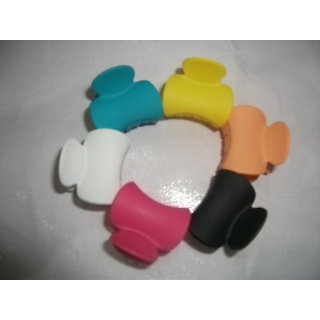 6 pcs Size Bangs Goody Hair Claw Clip Hair Pins for Girls Ladies Mix Colored HC138 (1)
