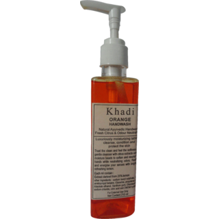 Khadi Orange Handwash 210 ML (Pack of 1)
