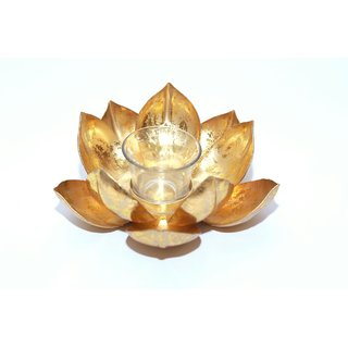 Lotus Tea Candle Holder/Stand