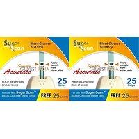 Thyrocare Sugar Scan 50 Test Strips + 50 Lancets Expiry