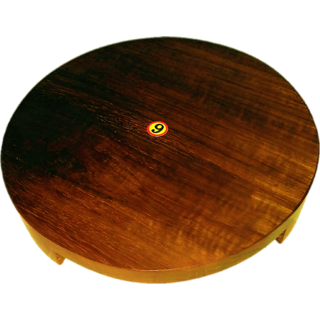 WOODEN ROLLING BOARD, WOODEN CHAKLA, SAGWAN WOOD, HIGHEST QUALITY PRODUCT CHAKLA 9inch, 1pc