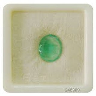 8.75 carat 100 AAA+++ quality emerald (Panna) by lab certified