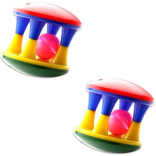 Mini Rattle Roller For Infants (pack of 2)