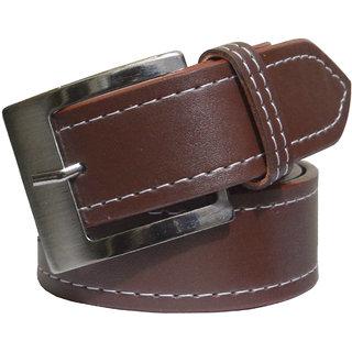Ws Deal Brown Leatherite Belts Men