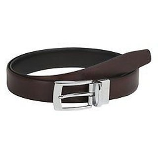DLT NEW mens Leather brown needle pin point belt
