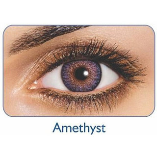Freshlook Monthly Disposable color Contact lens plano (2 lens per box) Amethyst