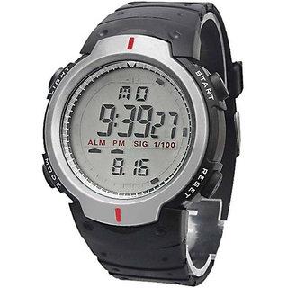 Skmei Digital KDS Sport Silver Dile Digital Watch For Men Boys