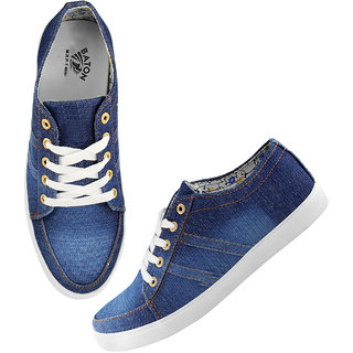 buy men's denim casual shoes online  ₹499 from shopclues