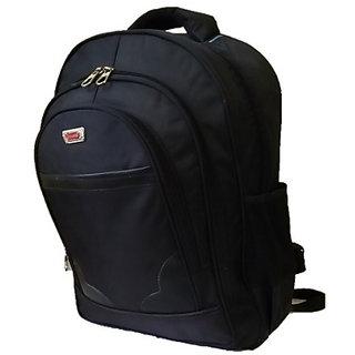 Surya Black Office Laptop Backpack