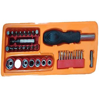 Ezzi deals 36 PC Screw driver set , life assistant tools ,  Screwdriver Socket  Bit Tool Kit Set For Home  Office