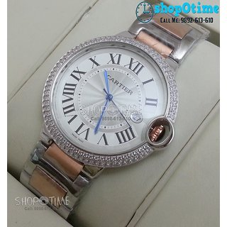 Buy Cartier Ballon Bleu Diamond Swiss Grade Mens Watch