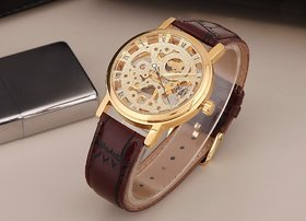 TRUE CHOICE New Transprent Open Dial Watch For Man