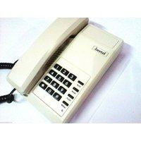 Beetel 11 Basic Landline Corded Telephone Set - Warm Grey (off White)