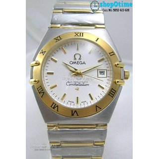 Omega Constellation Swiss Mens Watch With Original Box