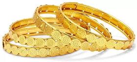Bhagya Lakshmi Traditional Gold Plated Bangles For Women