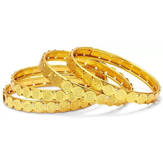 Bhagya Lakshmi Traditional Gold Plated Bangles For Women