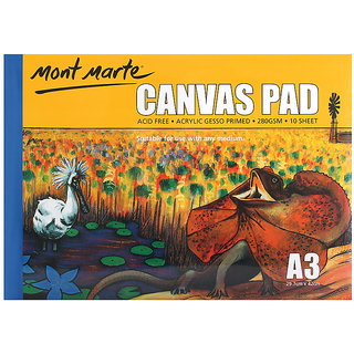 Canvas Pad 280Gsm A3 Size 10Sheets