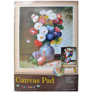 Canvas Pad 10Sheets A3 Size