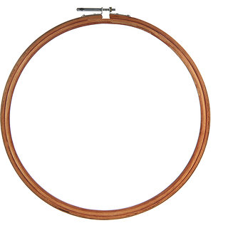 Wooden Embroidery Ring Hoop - 12 inch
