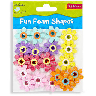 Foam Shapes -Jewelled Daisies