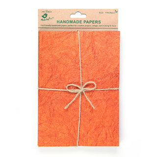Handmade Texture Paper A5 - Assorted