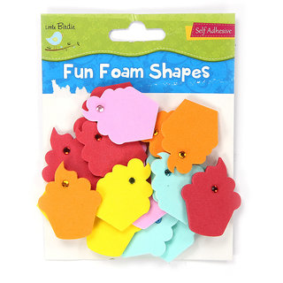 Foam Shapes -Cupcakes