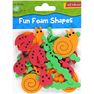 Foam Shapes-Bugs