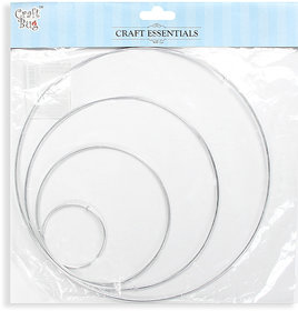 Dream Catcher Hoops 4 pcs- Size 2.5, 4.5, 6.5 and 8.5 inch