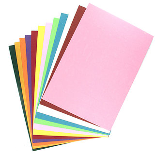 Coloured Handmade Paper A4  200 gsm - Assorted