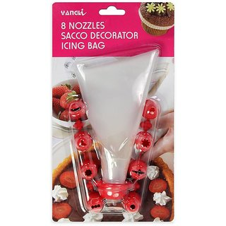 Decorating Icing  Bag with 8 nozzles