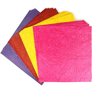 Coloured Leather Paper Metallic 12x12 inch  200 gsm - Assorted