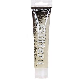 Glitter Paint 75ml -Silver